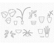 My Favorite Things Houseplants Die-namics (MFT-1964)