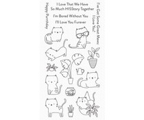 My Favorite Things Housecats Clear Stamps (CS-554)