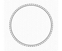 My Favorite Things Stitched Circle Shaker Window Die-namics (MFT-1986)