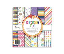 Polkadoodles Birthday Fun 6x6 Inch Paper Pack (PD8138)