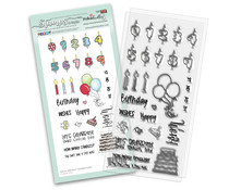 Polkadoodles Birthday Celebrations Clear Stamps (PD8137)