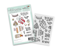 Polkadoodles Sweet Birthday Clear Stamps (PD8136)