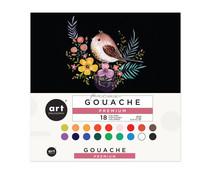 Art Philosophy Gouache Set (18pcs/12ml) (650407)