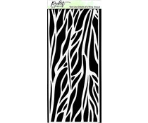 Picket Fence Studios Slim Line Details of a Wing 4x10 Inch Stencils (SC-233)
