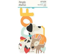 Simple Stories Simple Pages Pieces Woof (15930)