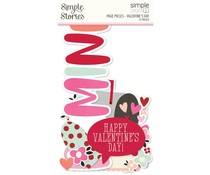 Simple Stories Simple Pages Pieces Valentine's Day (15905)