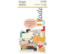 Simple Stories Simple Pages Pieces Hello Today (15925)