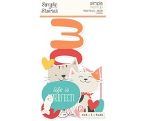 Simple Stories Simple Pages Pieces Meow (15929)