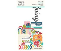 Simple Stories Simple Pages Pieces Going Places (15922)
