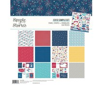 Simple Stories Stars, Stripes + Sparklers Collection Kit (15300)
