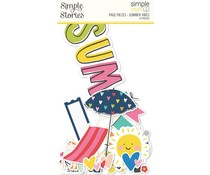 Simple Stories Simple Pages Pieces Summer Vibes (15126)
