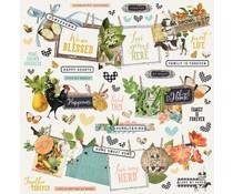 Simple Stories Simple Vintage Farmhouse Garden Banner Sticker (15002)