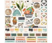 Simple Stories Simple Vintage Farmhouse Garden Cardstock Sticker (15001)