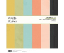 Simple Stories Simple Vintage Farmhouse Garden 12x12 Inch Basics Kit (15015)