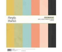 Simple Stories Simple Vintage Farmhouse Garden12x12 Inch Basics Kit (15015)