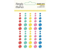 Simple Stories Sunkissed Enamel Dots (15122)