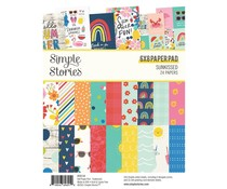Simple Stories Sunkissed 6x8 Inch Paper Pad (15114)
