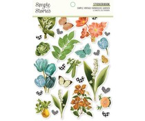Simple Stories Simple Vintage Farmhouse Garden Sticker Book (15023)