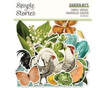 Simple Stories Simple Vintage Farmhouse Garden Garden Bits (15022)