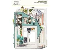 Simple Stories Simple Vintage Farmhouse Garden Chipboard Frames (15024)