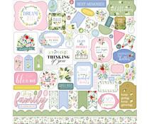 Carta Bella Flora No.4 12x12 Inch Element Sticker (CBFLN135014)