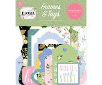 Carta Bella Flora No.4 Frames & Tags (CBFLN135025)