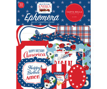 Carta Bella God Bless America Ephemera (CBGBA136024)