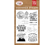 Echo Park New Adventures Clear Stamps (LGA242040)