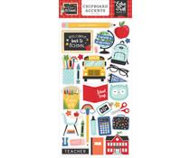 Echo Park I Love School Chipboard Accents (SCH243021)