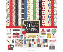 Echo Park I Love School 12x12 Inch Collection Kit (SCH243016)