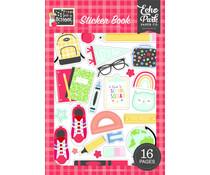 Echo Park I Love School Sticker Book (SCH243029)