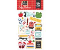 Echo Park I Love School Puffy Stickers (SCH243066)