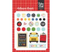 Echo Park I Love School Adhesive Brads (SCH243020)