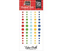 Echo Park I Love School Enamel Dots (SCH243028)