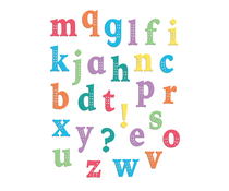 LDRS Creative Chloe Alpha Lowercase Clear Stamps (LDRS3297)