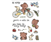 LDRS Creative Beary Hoppy Clear Stamps (LDRS3296)