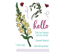 LDRS Creative Snapdragon Clear Stamps (LDRS3294)