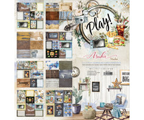 Memory Place Play! 12x12 Inch Journaling Cards Paper Pack (MP-60559)