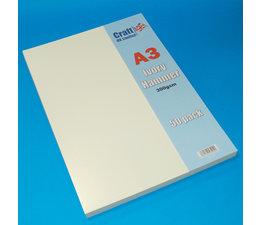 Craft UK A3 Ivory Hammered Cardstock Pack (CUK2026)