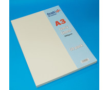 Craft UK A3 Ivory Linen Cardstock Pack (CUK2027)