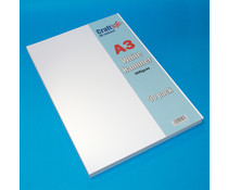 Craft UK A3 White Hammered Cardstock Pack (CUK2012)