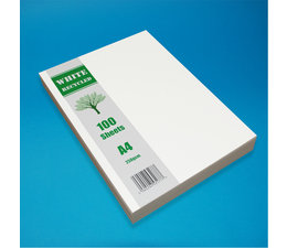 Craft UK A4 White Recycled Cardstock Pack (CUK2255)