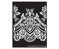 Re-Design with Prima Elegant Lace 9x13.5 Inch Decor Stencils (652685)