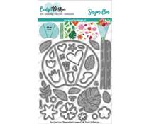 CarlijnDesign Snijmallen Boeketje Bloemen (CDSN-0105)