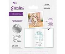 Gemini Our Home Stamp & Die (GEM-STD-OURHOM)