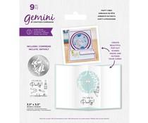Gemini Party Vibes Stamp & Die (GEM-STD-PARVIB)