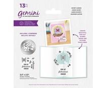 Gemini Secret Garden Stamp & Die (GEM-STD-SECGAR)