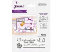 Gemini Smitten As A Kitten Stamp & Die (GEM-STD-PSSAAK)