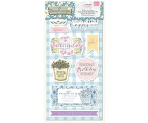 Crafter's Companion Farmhouse 3D Die-Cut Toppers (NG-FH-3D-DTOP)