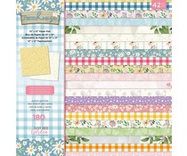 Crafter's Companion Farmhouse 12x12 Inch Paper Pad (NG-FH-PAD12)